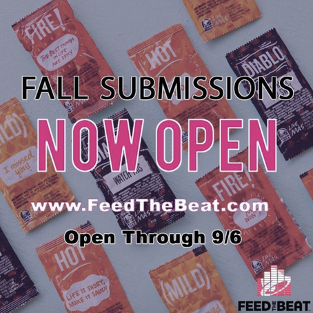 Feed the Beat Submissions NOW OPEN