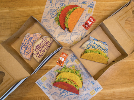 Taco Bell Is Debuting $5 Taco Gift Boxes For National Taco Day