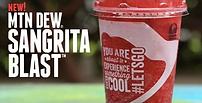 Taco Bell Sangria Blast Freeze 2015