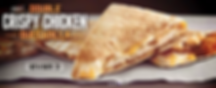 Taco Bell Doube Crispy Chicken Quesadila 2015