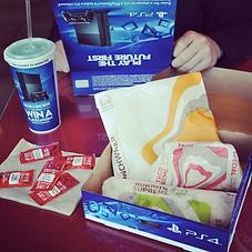 Taco Bell PS4 Box 201