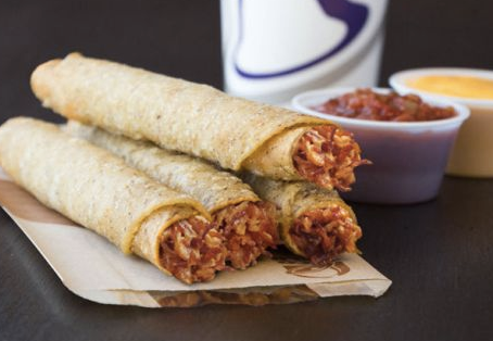 Rolled Chicken Tacos Returns to Taco Bell