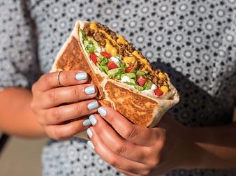 Taco Bell Triple Double Crunchwrap 2016