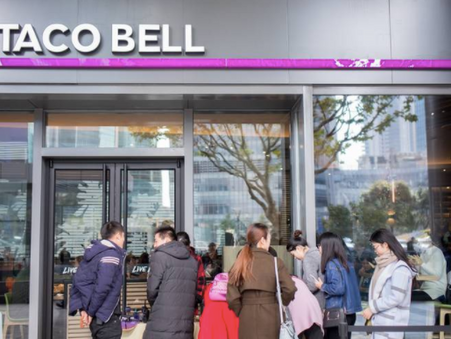 Yum China opening two Taco Bell restaurants in Shanghai