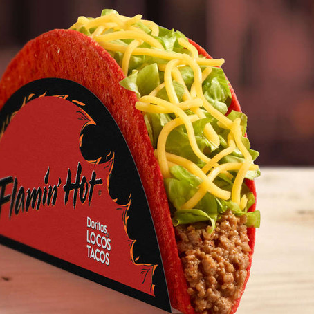 It's Official: Taco Bell Is Unleashing a New Flamin' Hot Doritos Locos Taco
