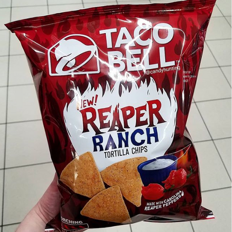 Taco Bell Just Launched Reaper Ranch Tortilla Chips That Sound Even Hotter Than The Fries