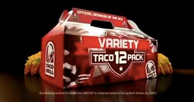 Taco Bel Variety 12 Pack 2013