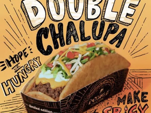 New Double Chalupa from Taco Bell