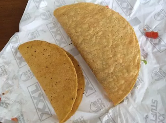 Taco Bel XXL Crispy Steak Taco 2014
