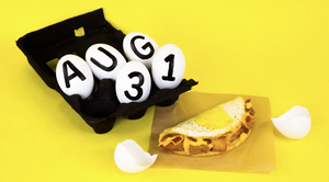 Taco Bell Naked Egg Taco August 31