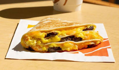 Taco Bell Steak Breakfast Stacker