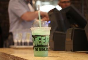 Alcoholic freeze at a Taco Bell Cantina location