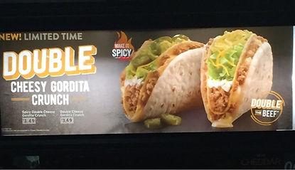 Taco Bell Double Cheesy Gordita Crunch 2