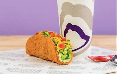 Taco Bell Naked Chicken Chalupa 207