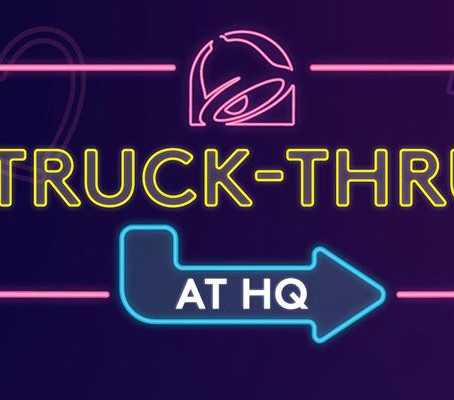 Taco Bell turns headquarters into giant drive-thru for truckers