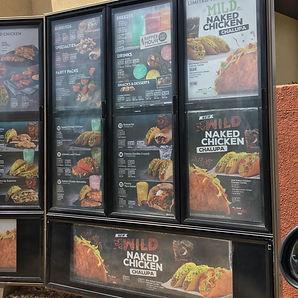 Taco Bell Naked Chicken Menu
