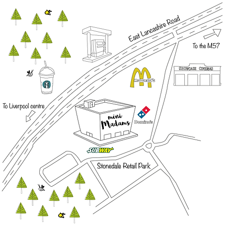 Map of Mini Madams