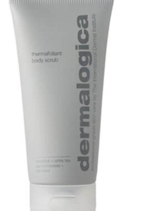 Thermafoliant body scrub