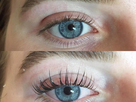 What is the difference between LVL and Semi permanent lashes?