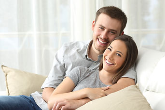 photo-Smiling relaxing couple.jpg