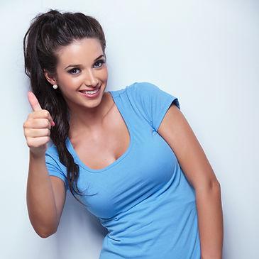 Photo-woman w thumb up.jpg