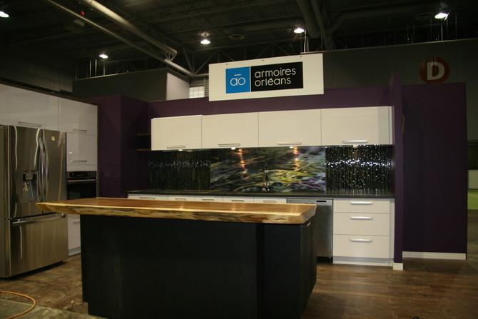 Présence des panneaux DECOART au Salon Déco & Réno au Centre de foire de Québec