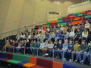 Lagere school bezoekt Technopolis