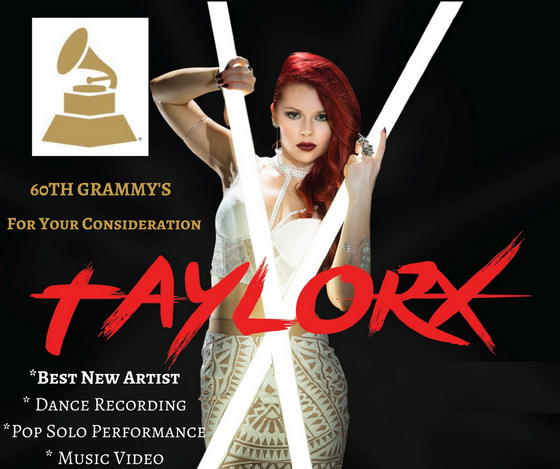 """FOR YOUR CONSIDERATION- 60th GRAMMY's-Taylor X """"NEW ARTIST"""""""