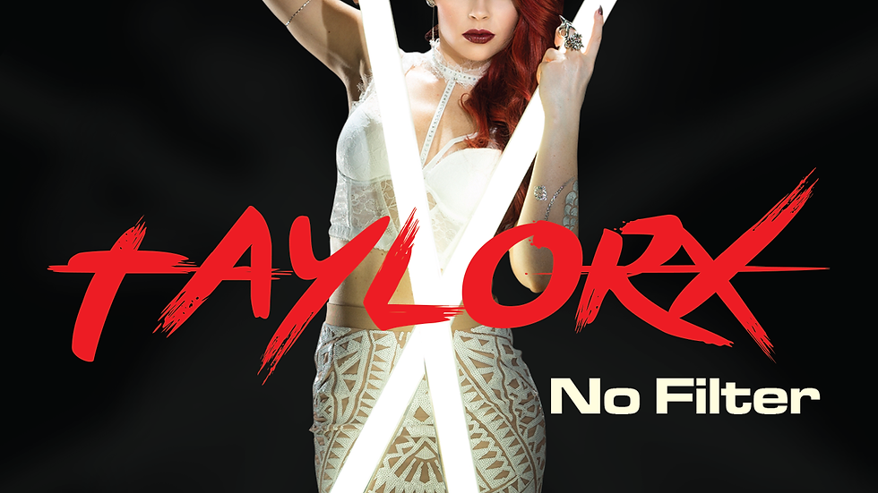 "Taylor X LP Album ""No Filter""-Physical Copy"