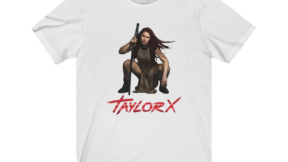 "Taylor X ""Shots"" Unisex Jersey Short Sleeve Tee"