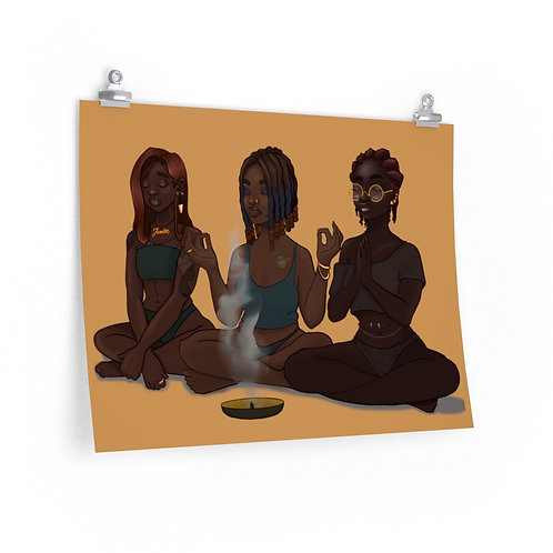 My Girls and My Spirituality Posters
