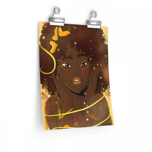 Sunshine in your Smile Premium Matte vertical posters