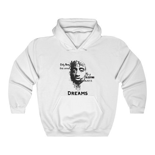 Tupac and His Wise Words Unisex Heavy Blend™ Hooded Sweatshirt