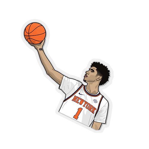 Lamelo Ball Knicks - Kiss-Cut Stickers