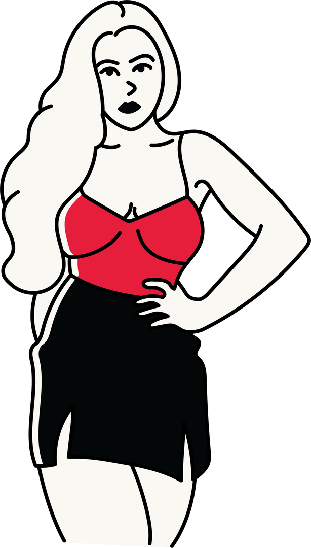 Woman in Red 1_xavierjdesigns.png