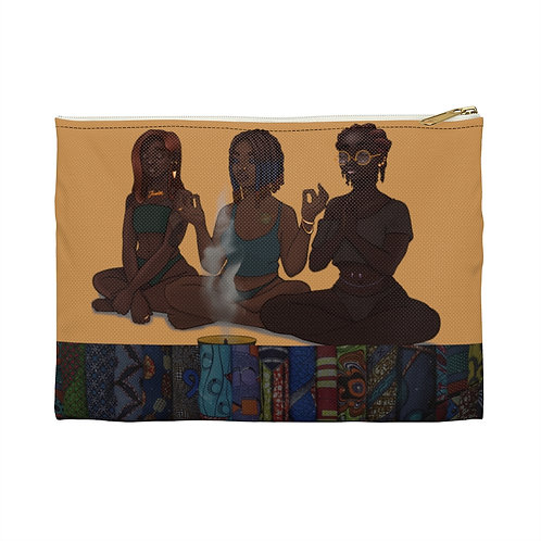 My Girls and My Spirituality Accessory Pouch