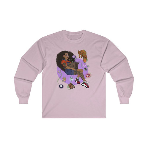 Lost and Found 100% Ultra Cotton Long Sleeve Tee