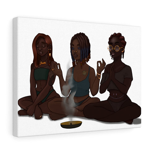 My Girls and My Spirituality Canvas Gallery Wraps
