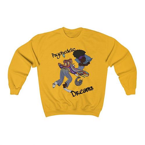 Psychedelic Dreams Heavy Blend™ Crewneck Sweatshirt
