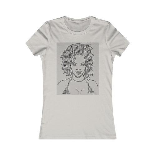 Miss Lauryn Hill 100% Cotton Women's Favorite Tee