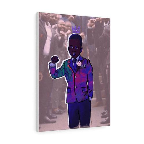 Black Prince Canvas Gallery Wraps