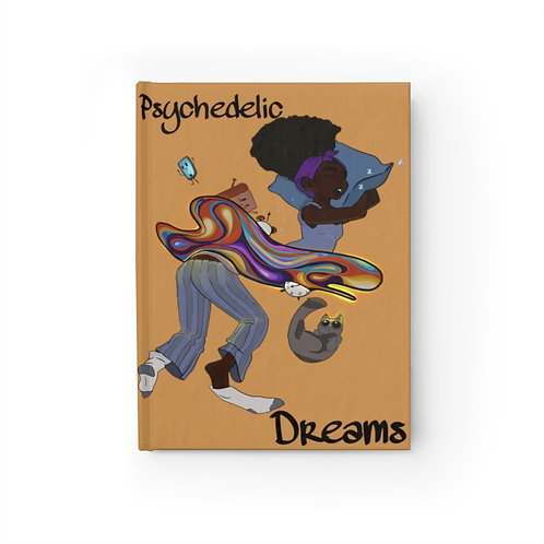 Psychedelic Dreamer Journal - Ruled Line