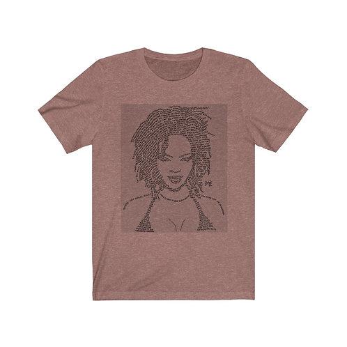 Miss Lauryn Hill 100% Cotton Jersey Short Sleeve Tee