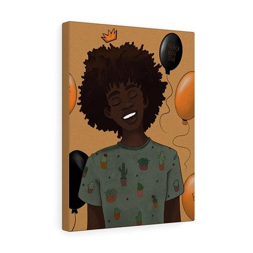 Black Boy Joy Canvas Gallery Wraps
