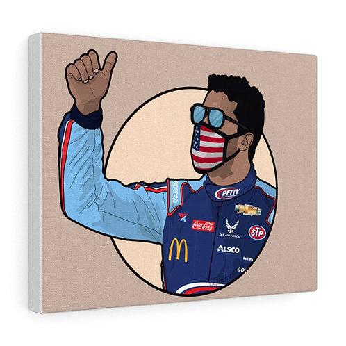 Bubba Wallace Canvas Gallery Wraps