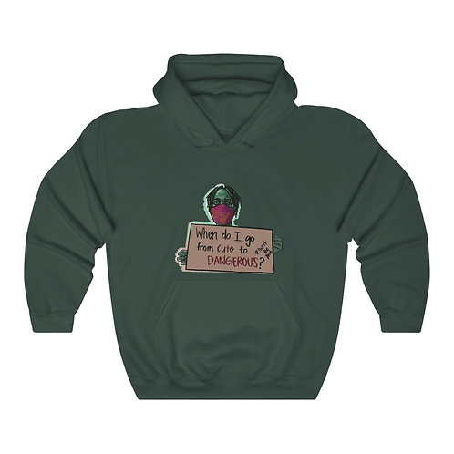 Cute to Dangeroud Heavy Blend™ Hooded Sweatshirt