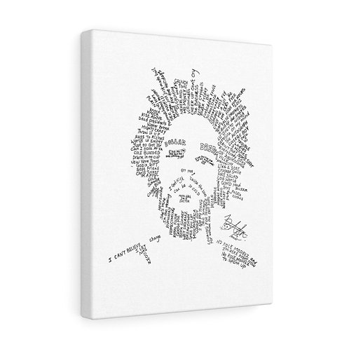J. Cole Canvas Gallery Wraps