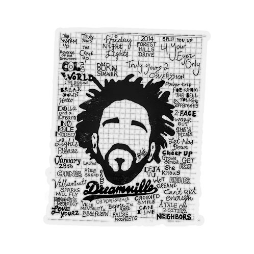 Dreamville Kiss-Cut Stickers