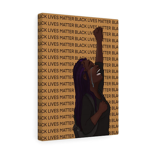 Stand With Our Nubian Queen Canvas Gallery Wraps