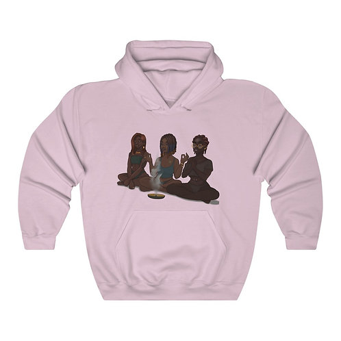 My Girls and My Spirituality Heavy Blend™ Hooded Sweatshirt